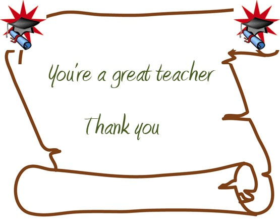 Thank You Teacher Quote 1 Picture Quote #1