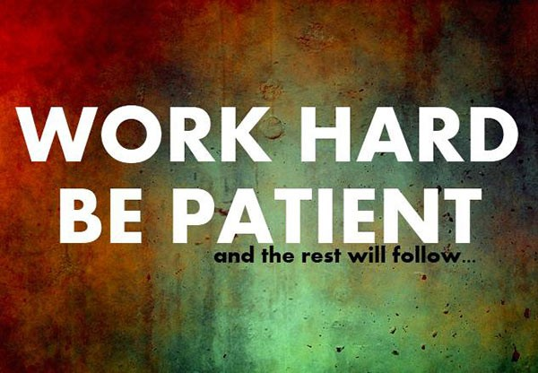 Be Patient Quote 1 Picture Quote #1