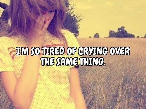 Im Done Crying Over You Quote 2 Picture Quote #1