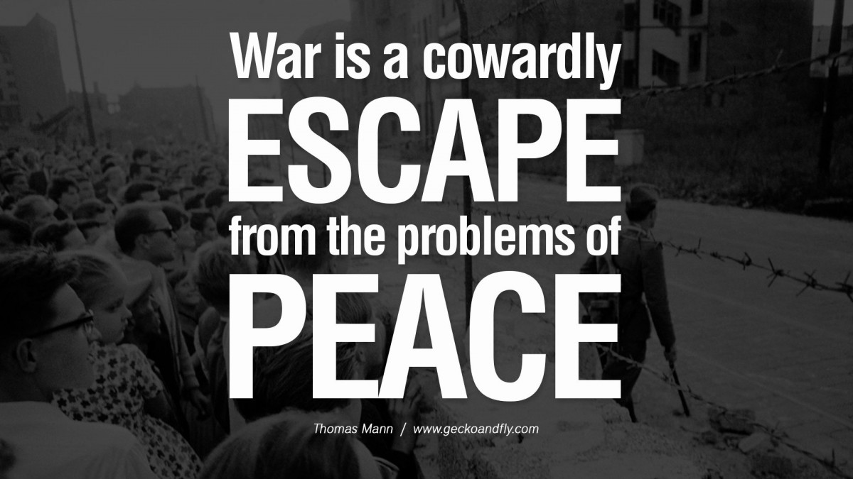 Famous War Quote 4 Picture Quote #1