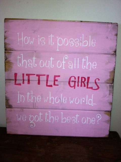 Little Girl Quote 4 Picture Quote #1