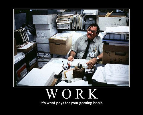 Funny Quote About Work 1 Picture Quote #1
