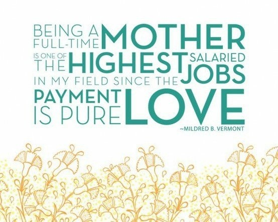 Being A Mom Love Quote 1 Picture Quote #1