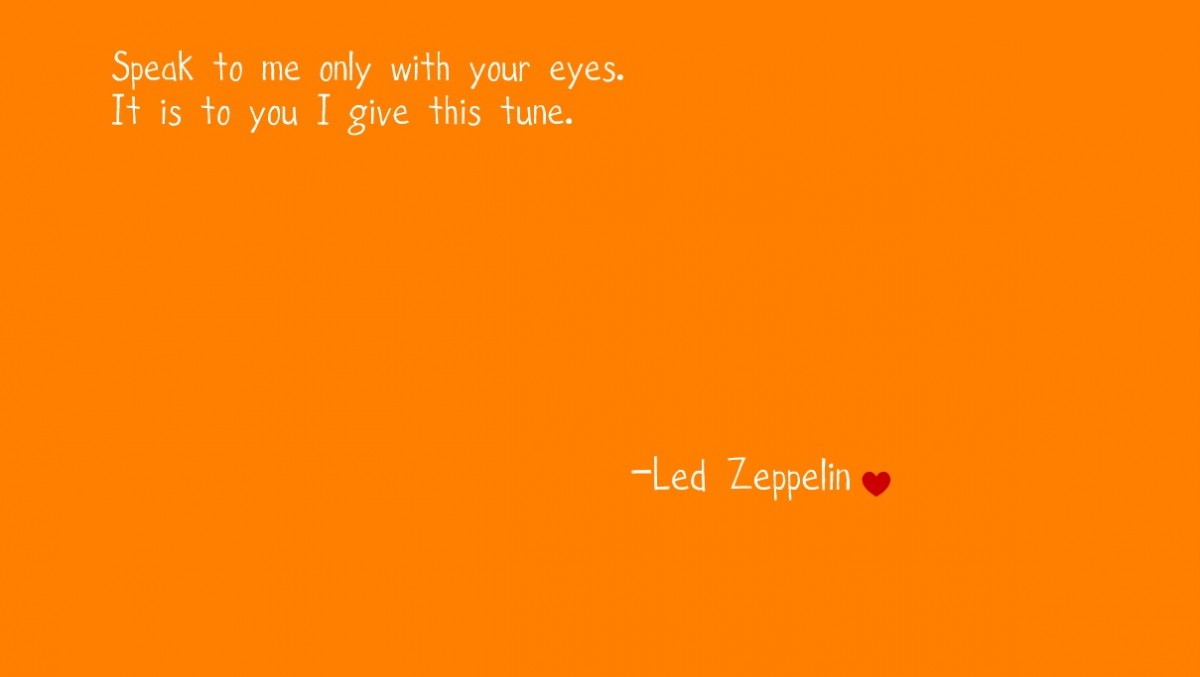 Led Zeppelin Quote 5 Picture Quote #1