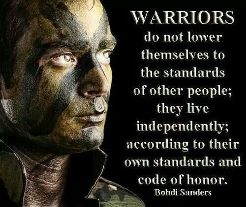 Warrior Quote 3 Picture Quote #1