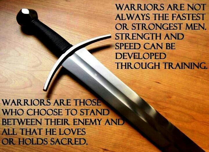 Warrior Quote 8 Picture Quote #1