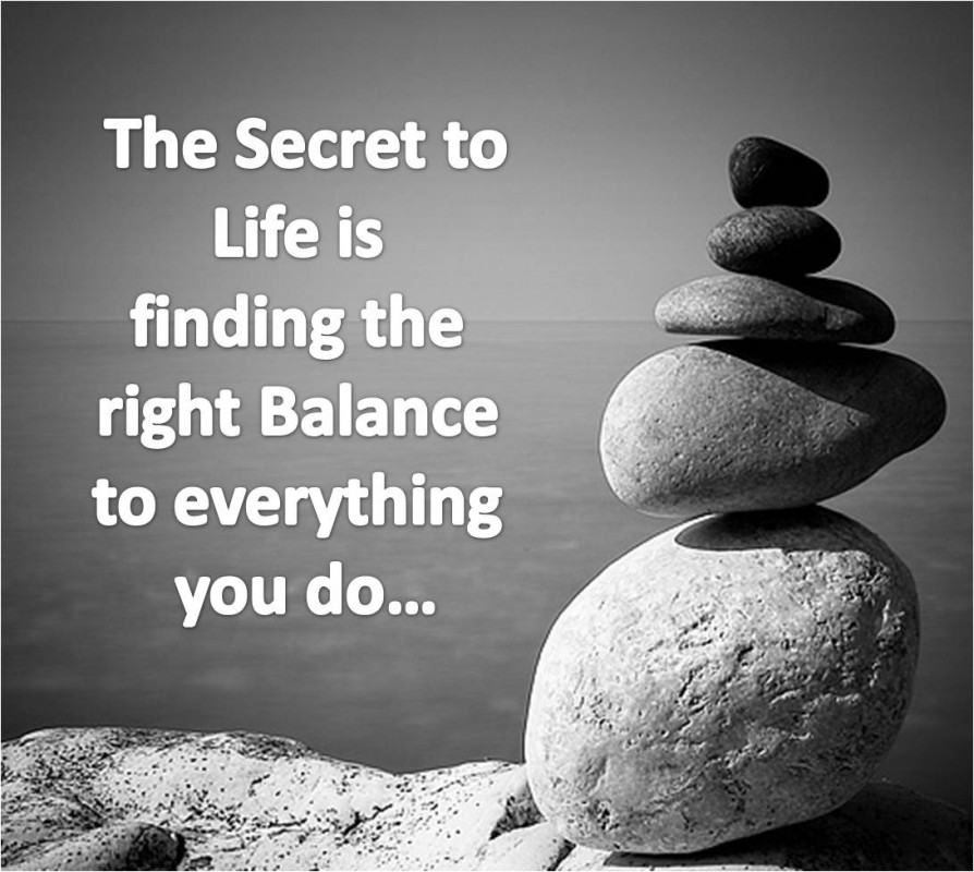 Finding Balance Quote 1 Picture Quote #1