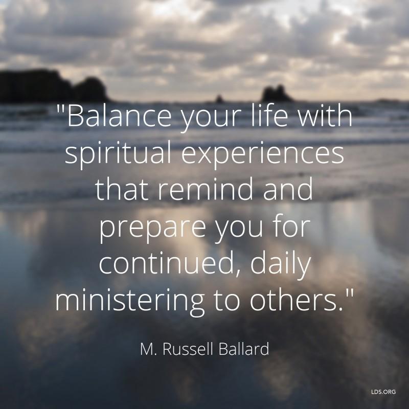 Spiritual Balance Quote 1 Picture Quote #1