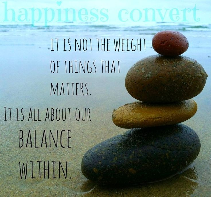 Balance Quote 15 Picture Quote #1