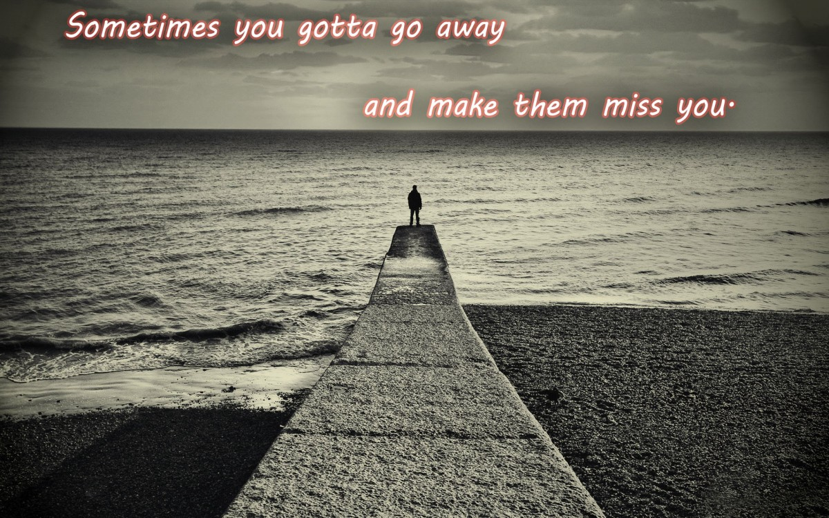 Going Away Quote 3 Picture Quote #1