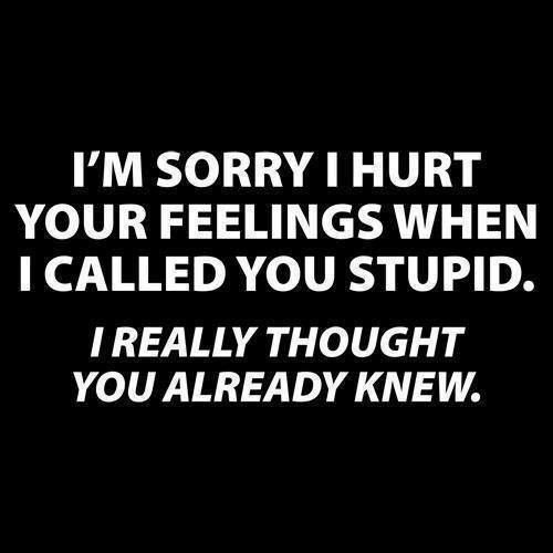 Funny Hurt Feelings Quote 2 Picture Quote #1
