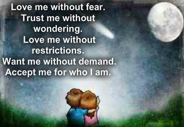 Love Me Quote 4 Picture Quote #1