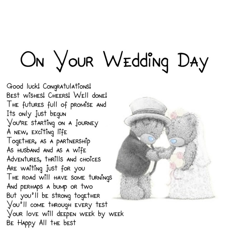 Wedding Day Quotes Captivating Wedding Day Quote  Quote Number 617646  Picture Quotes