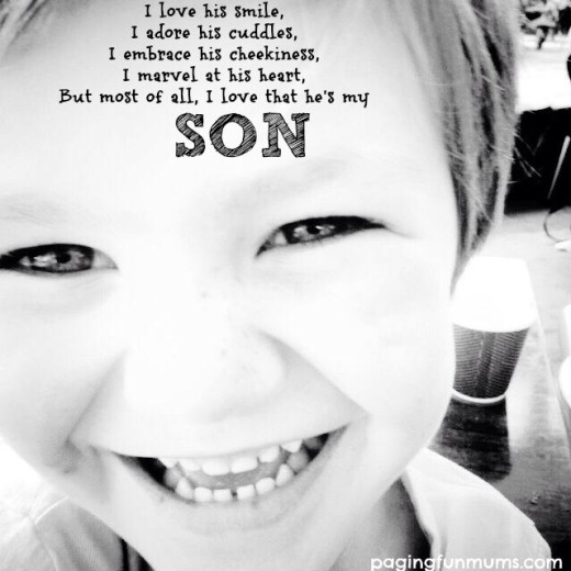 My Son Quote 1 Picture Quote #1