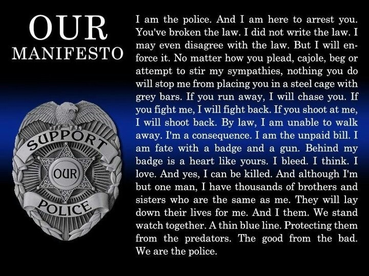 Police Quote 1 Picture Quote #1