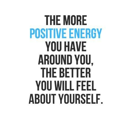 Quotes About Positive Energy Simple Positive Energy Quote  Quote Number 617861  Picture Quotes