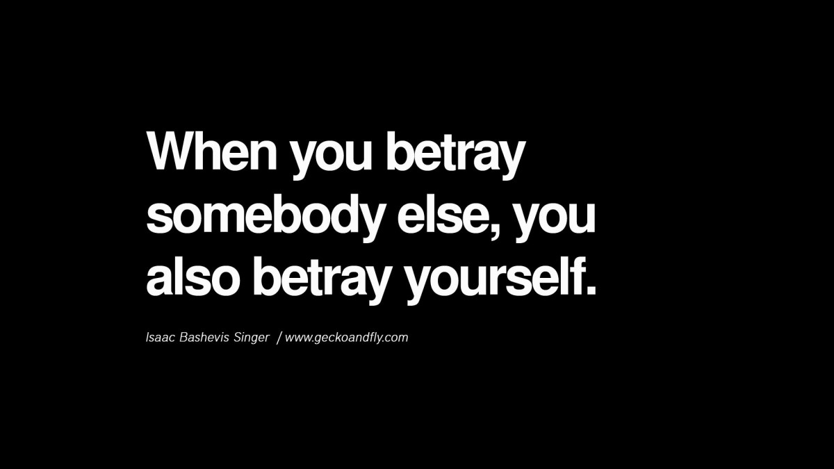Betrayed Quote 1 Picture Quote #1