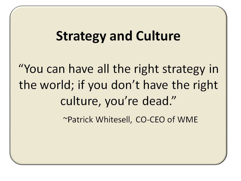 Business Culture Quote 1 Picture Quote #1