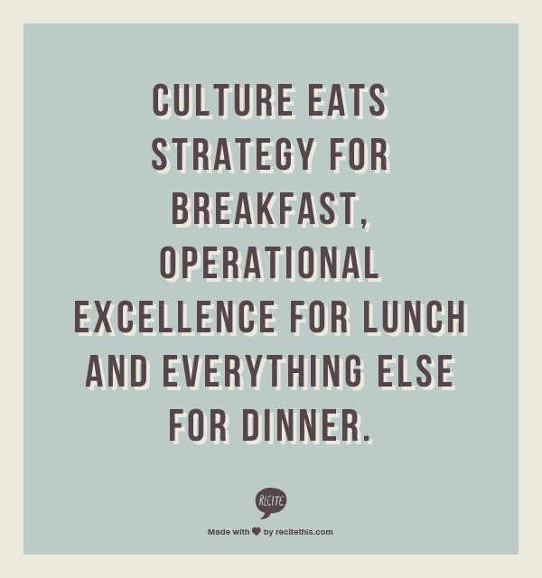 Quotes On Culture Brilliant Changing Corporate Culture Quote  Quote Number 618125  Picture
