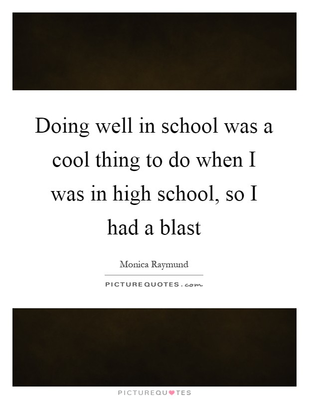 importance of doing well in school This desired from school because only in this way can talk a good schooling but  can we talk a good schooling throughout the world for example, what.