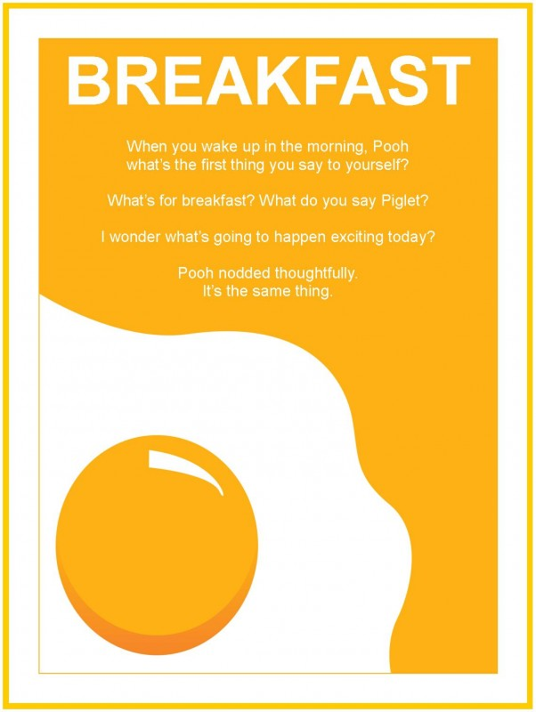 Breakfast Quote 1 Picture Quote #1