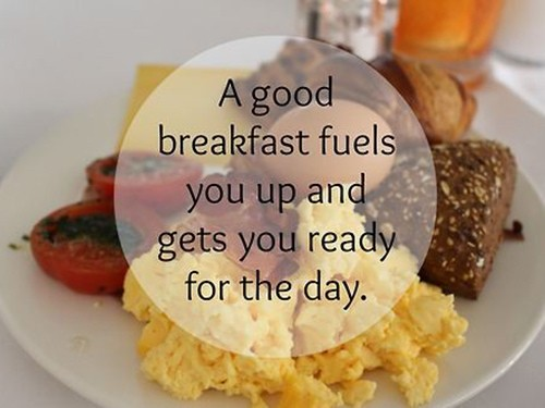 Breakfast Quote 3 Picture Quote #1
