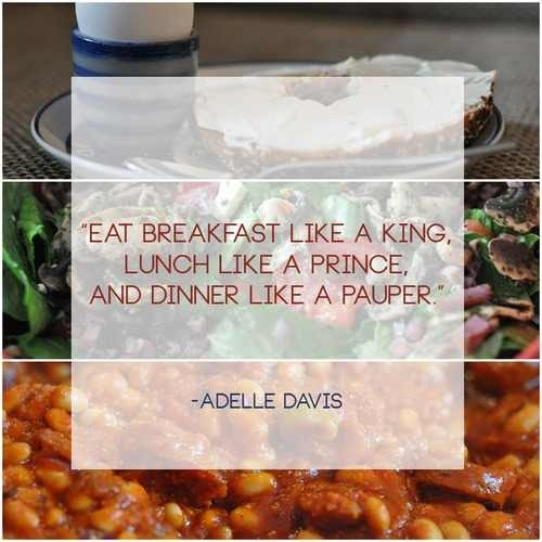 Eat Breakfast Quote 1 Picture Quote #1