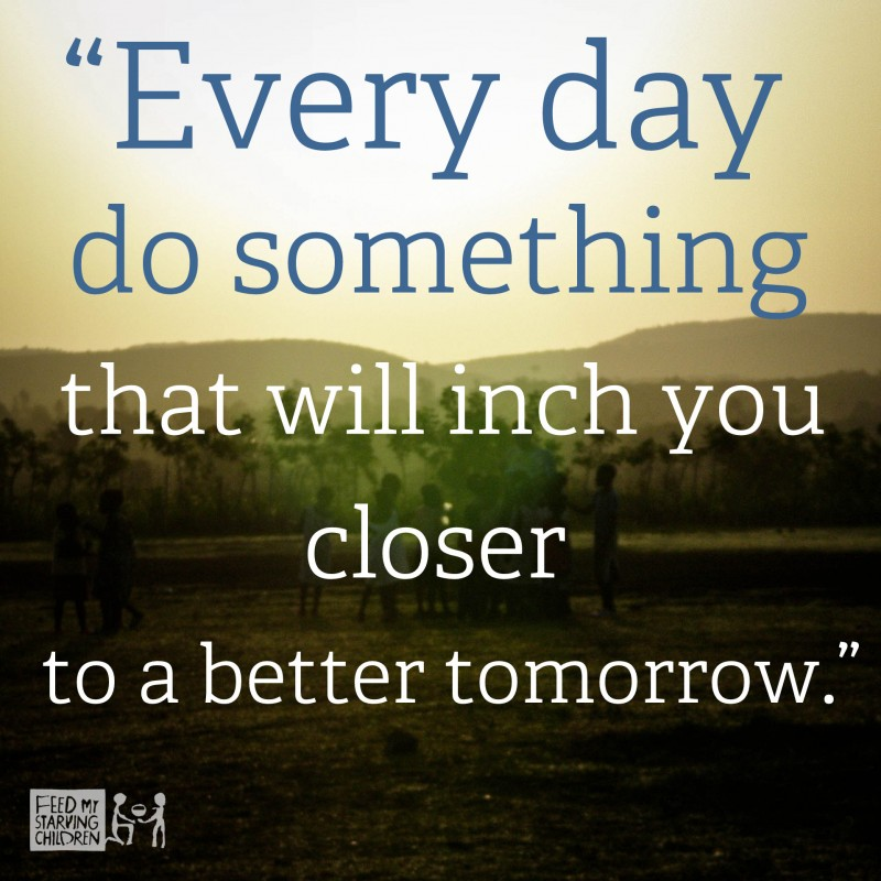 Better Day Tomorrow Quote 1 Picture Quote #1