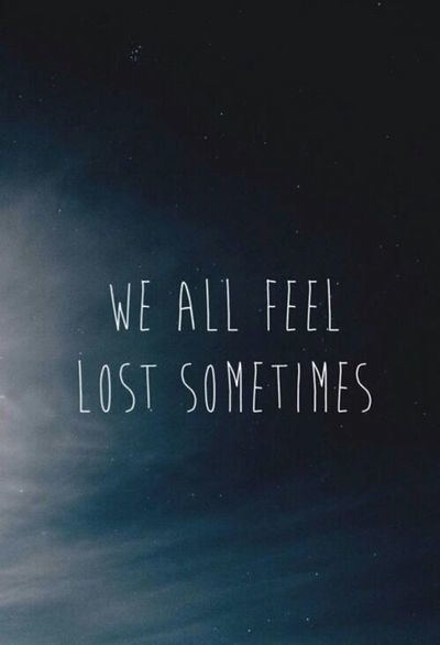 Feeling Lost Quote 1 Picture Quote #1