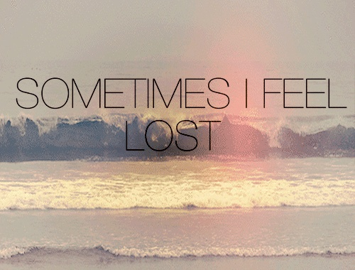 Feeling Lost Quote 3 Picture Quote #1