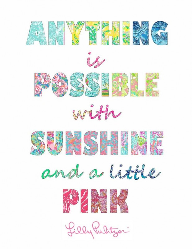 Lilly Pulitzer Quote 1 Picture Quote #1