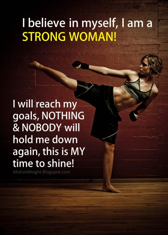 Strong Woman Quote 1 Picture Quote #1