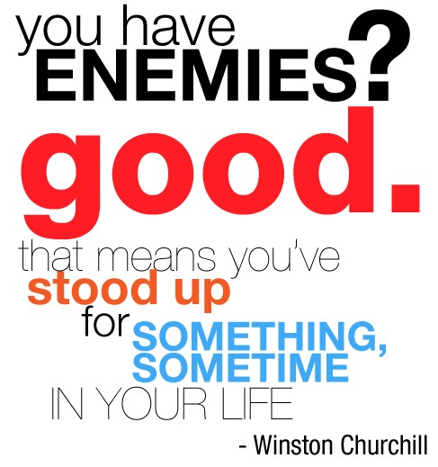 Enemies Quote 1 Picture Quote #1
