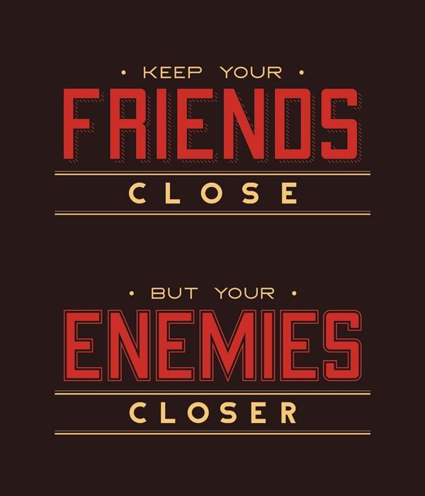 Enemies Quote 3 Picture Quote #1