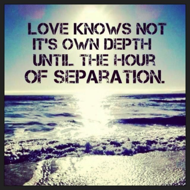 Separation Quote 2 Picture Quote #1