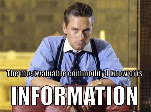 Wall Street Quotes Awesome Gordon Gekko Wall Street Quote  Quote Number 618727  Picture Quotes