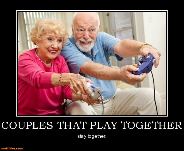 Playing Video Games Together Quote 1 Picture Quote #1