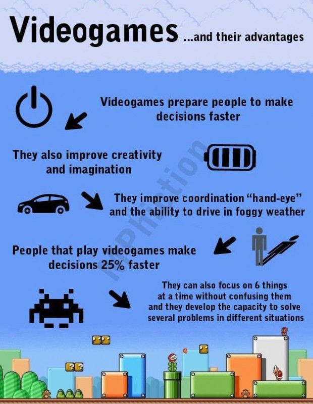 Quote About Video Games Benefits 1 Picture Quote #1