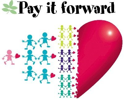 Pay It Forward Quote 5 Picture Quote #1