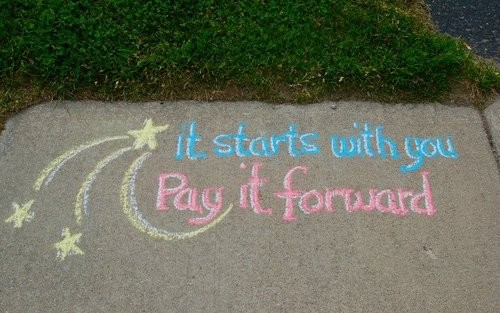 Pay It Forward Quote 11 Picture Quote #1