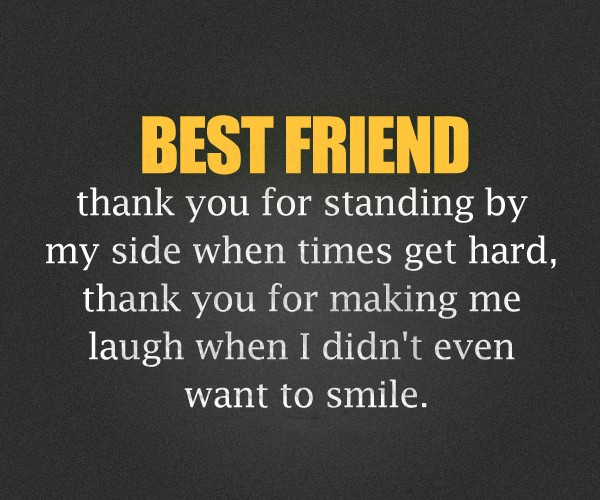 Thank You Quote For Friends 3 Picture Quote #1