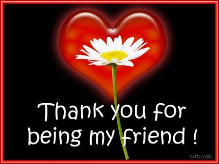 Thank You Quote For Friends 4 Picture Quote #1