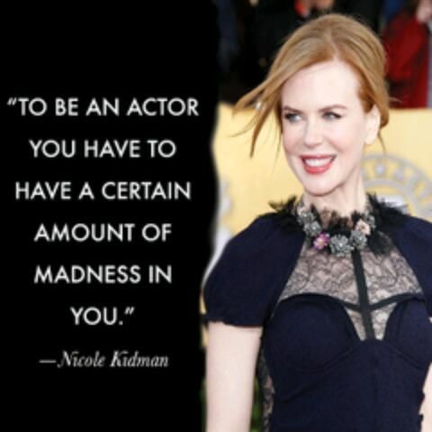 Acting Quote 8 Picture Quote #1