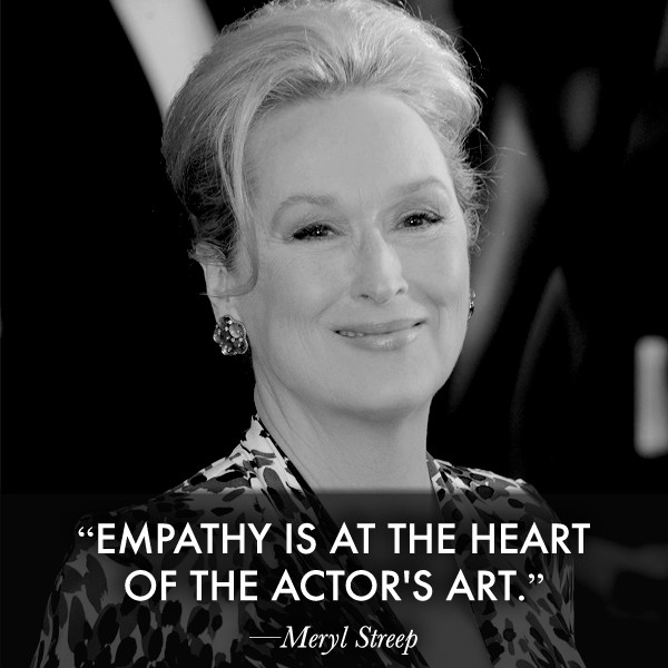 Meryl Streep On Acting Quote 1 Picture Quote #1