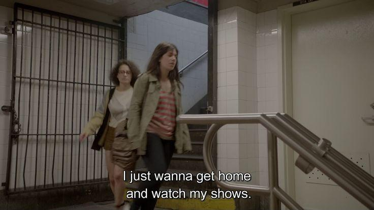 I just wanna get home and watch my shows Picture Quote #1