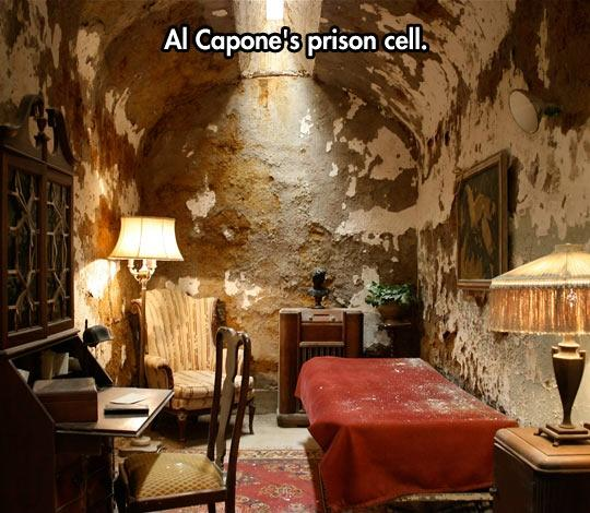 Al Capone's prison cell Picture Quote #1