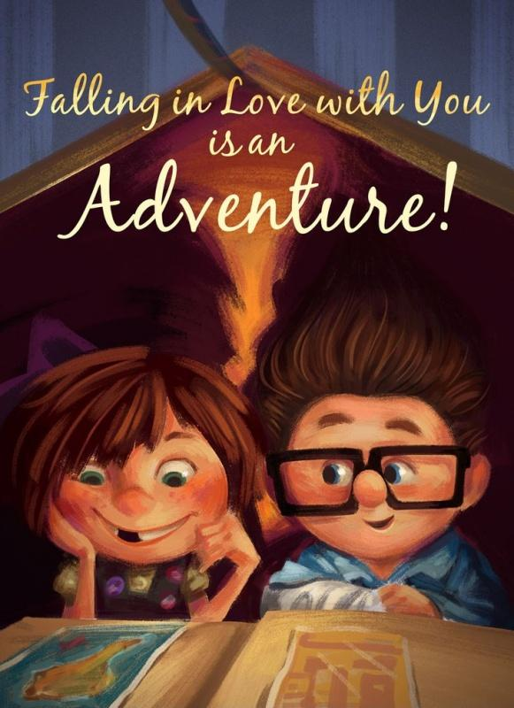 Falling in love with you is an adventure Picture Quote #1