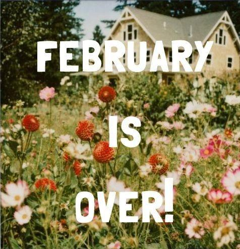 February is over! Picture Quote #1