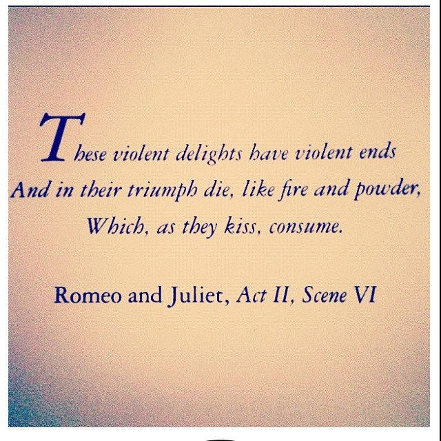 Romeo And Juliet Quote 4 Picture Quote #1