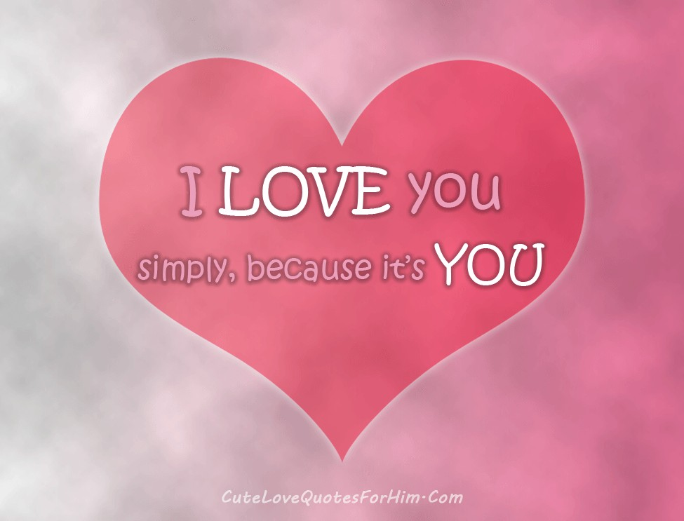 I Love You Because Quote 4 Picture Quote #1
